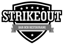 Strikeout Bar och Restaurang Logo